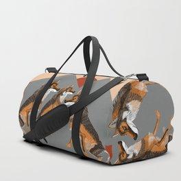 Totem Iberian wolf Duffle Bag
