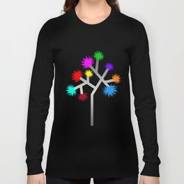 Joshua Tree Pom Poms by CREYES Long Sleeve T-shirt