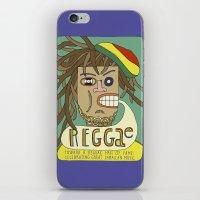reggae iPhone & iPod Skins featuring Reggae by Timea Koncz