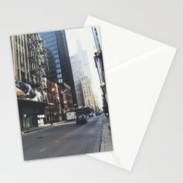 Chicago Street View Stationery Cards