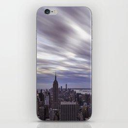 City at Sunset iPhone Skin