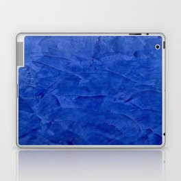 Pretty Blue Cases - Ombre - Stucco - Pillow - Classic Blue - Shower Curtains Laptop & iPad Skin