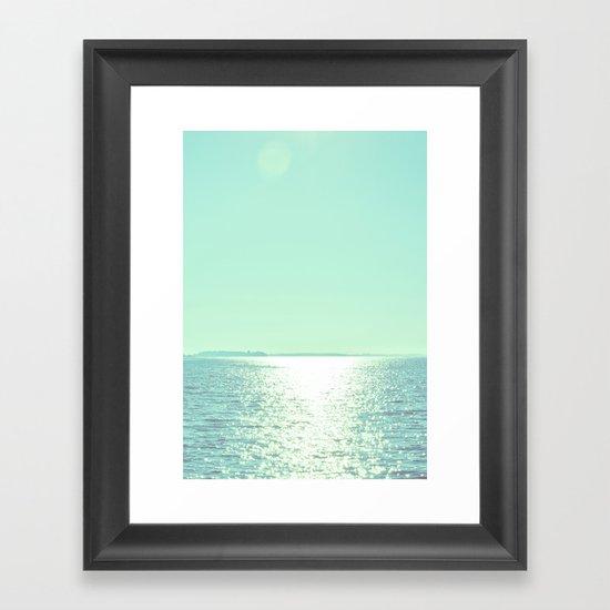 Summer Shine Framed Art Print