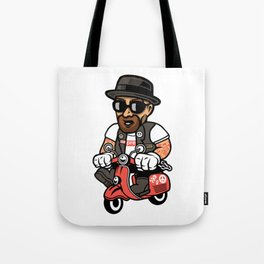 Heisenberg Scooter Tote Bag