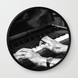 Play the Piano Wall Clock