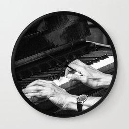 Play the Piano Wall Clock