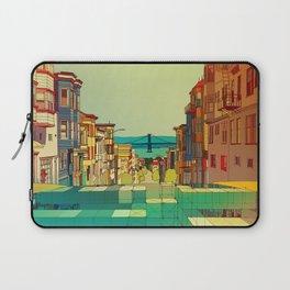 San Francisco digital street view Laptop Sleeve