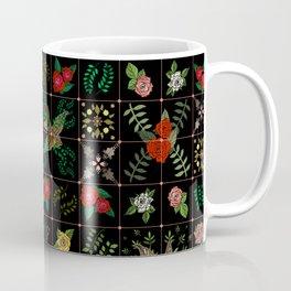 Swallows in a Spanish Rose Garden Coffee Mug