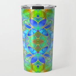 Floral Fractal Art G20 Travel Mug