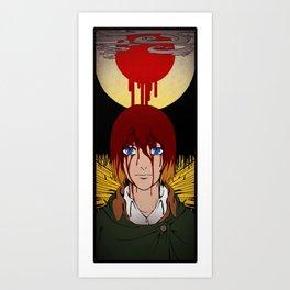 Shingeki no Kyojin - Armin card Art Print