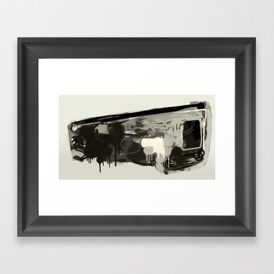 Expressio Framed Art Print
