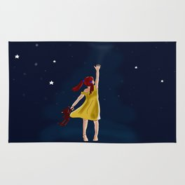 Reaching for the stars Rug
