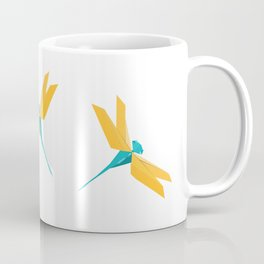 Origami Dragonfly Coffee Mug