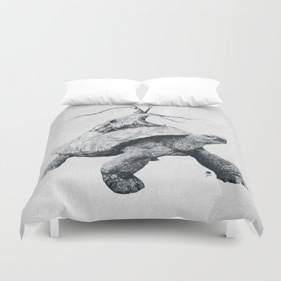 Tortoise Tree Duvet Cover