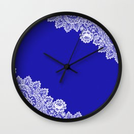 Lace design 3. Wall Clock