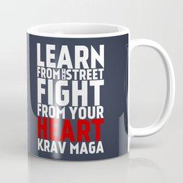 Learn from the Street Krav Maga Coffee Mug