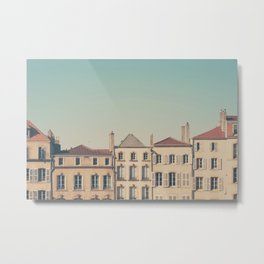 the beautiful french architecture of Metz, France Metal Print