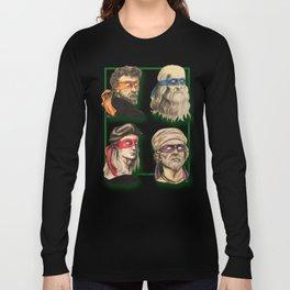 Renaissance Mutant Ninja Artists Long Sleeve T-shirt