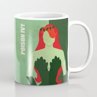 poison ivy Mugs featuring Poison Ivy by Loud & Quiet