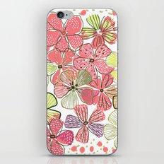 Pink Hibiscus iPhone & iPod Skin
