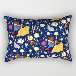 Be Our Guest Pattern Rectangular Pillow