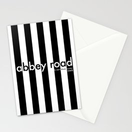 Abbey Road, St Johns Wood, London, NW8, Travel Poster Stationery Cards