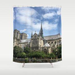 Paris, France - Notre Dame Shower Curtain