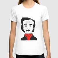 poe T-shirts featuring Poe by Natália Damião