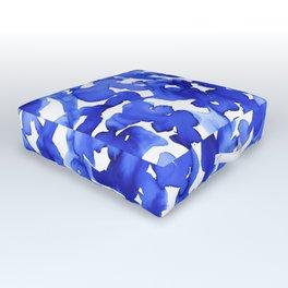 Energy Blue Outdoor Floor Cushion