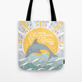 I am choosing peace Tote Bag