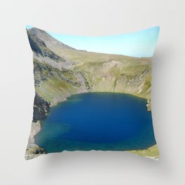 seven rila lakes Throw Pillow