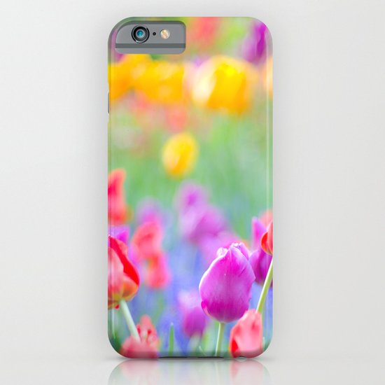 Soft Tulips iPhone & iPod Case