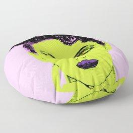La femme Medusa Floor Pillow
