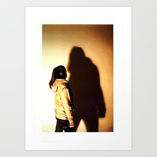 SHADOW SERIES Art Print