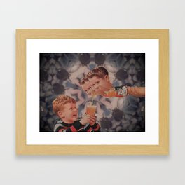 Firstly Framed Art Print