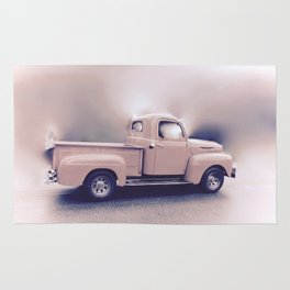 Classic Vintage Pickup Rug
