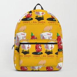 Sorry Taken Backpack