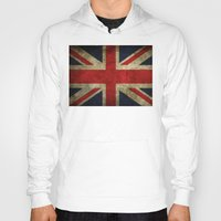 union jack Hoodies featuring Union Jack by Bethan Eastwood