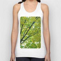 Lush ~ yellow-green leaves 4 U! ~ summer tree Unisex Tank Top