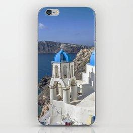 Santorini, Oia Village, Greece iPhone Skin