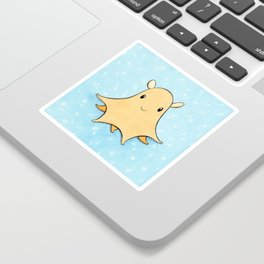 Flapjack Octopus Sticker