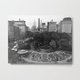 Union Square Metal Print