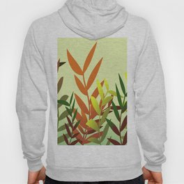 Autumn Leaves green Hoody