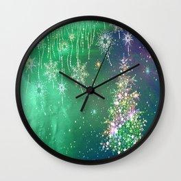Winter Design QE Wall Clock