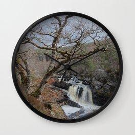 Rogie Falls, Near Inverness, Scotland - Scottish Landscape Wall Clock