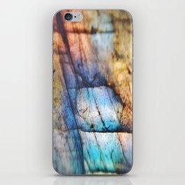 Labradorite Macro iPhone Skin