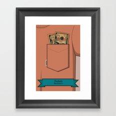 Pockets - Macklemore - Framed Art Print