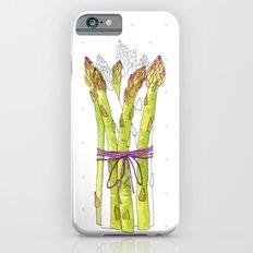asparagus and mushrooms Slim Case iPhone 6s