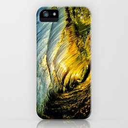 Sunset Barrel ~ Newport Beach iPhone Case