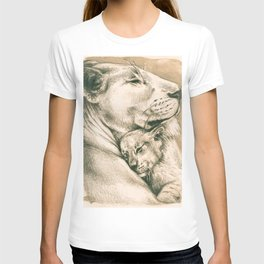 Lioness And The Cub T-shirt